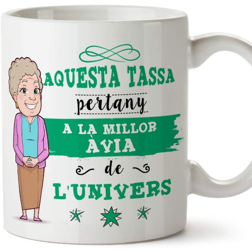 Aquesta tassa pertany a la millor àvia de l'univers
