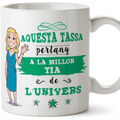 Aquesta tassa pertany a la millor tia de l'univers