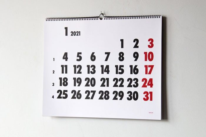 Calendari Vinçon de paret