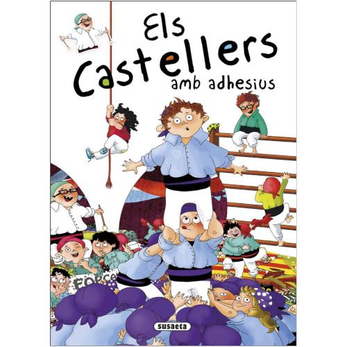 Els castellers amb adhesius