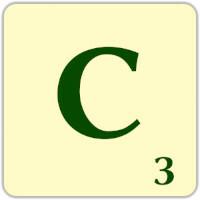 Ficha Scrabble C