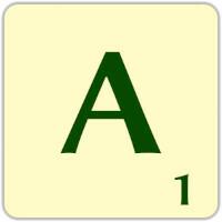 Fitxa Scrabble A