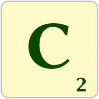 Fitxa Scrabble C