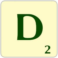 Fitxa Scrabble D