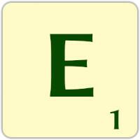 Fitxa Scrabble E