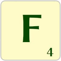 Fitxa Scrabble F