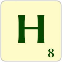 Fitxa Scrabble H
