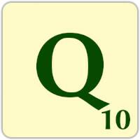 Fitxa Scrabble Q de 10 punts