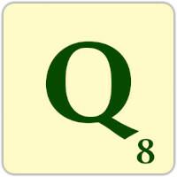 Fitxa Scrabble Q