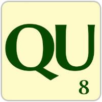 Fitxa Scrabble QU
