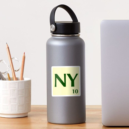 Fitxa de Scrabble adhesiva de la NY