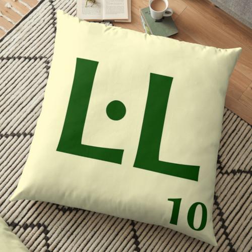 Funda de coixí Scrabble L·L
