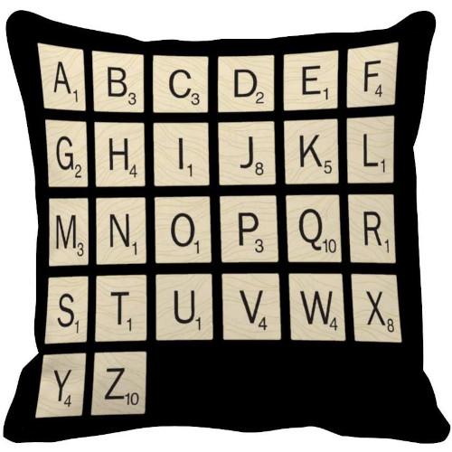 Funda de coixí de Scrabble