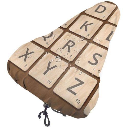 Funda seient bicicleta de Scrabble