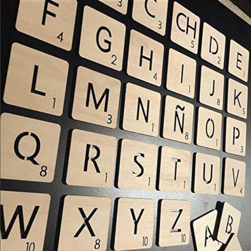 Lletres de Scrabble de paret