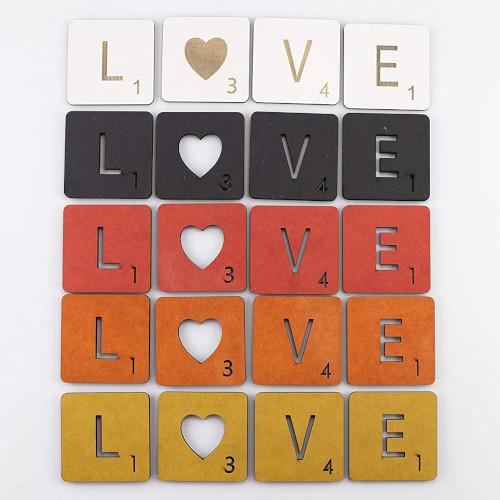 Lletres personalitzades de Scrabble