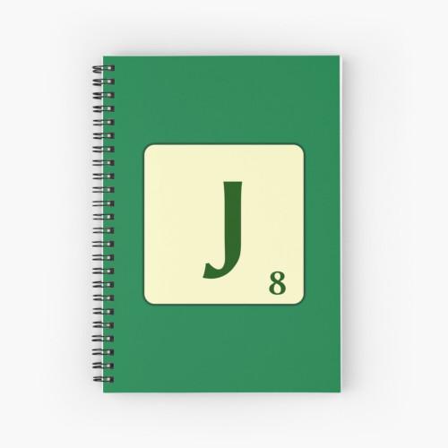 Llibreta d'espiral de Scrabble