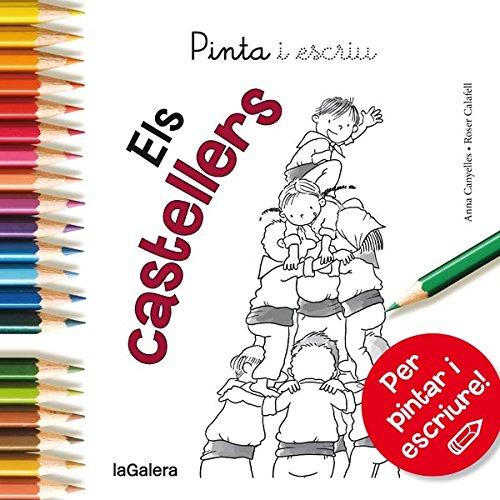 Pinta i escriu Els castellers