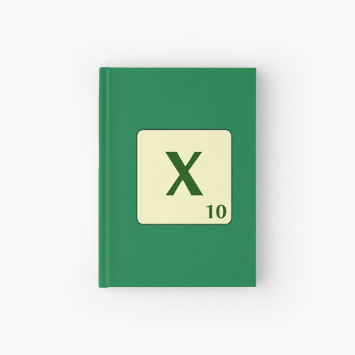Quadern de tapa dura de Scrabble