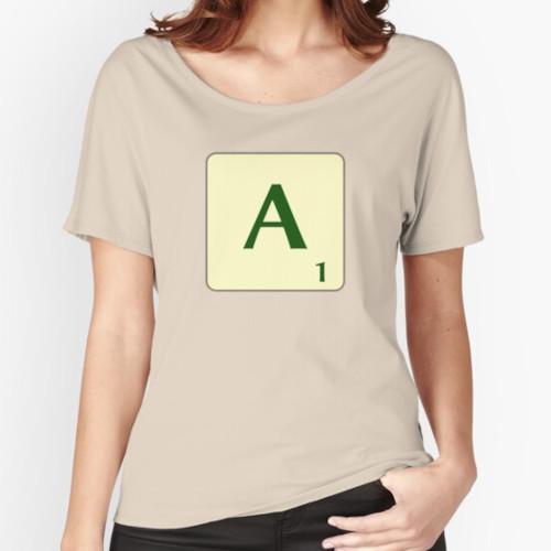 Samarreta de Scrabble ampla per a dona
