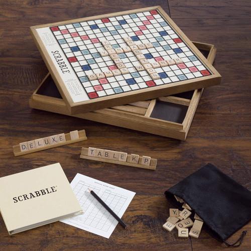 Scrabble de fusta
