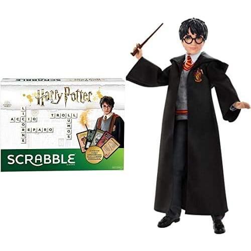 Scrabble i ninot de Harry Potter